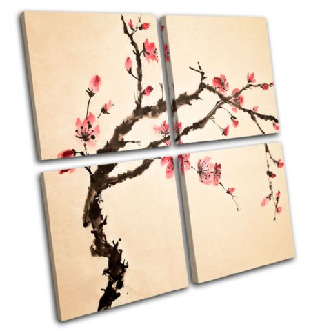 Cherry blossom Floral - 13-0822(00B)-MP01-LO
